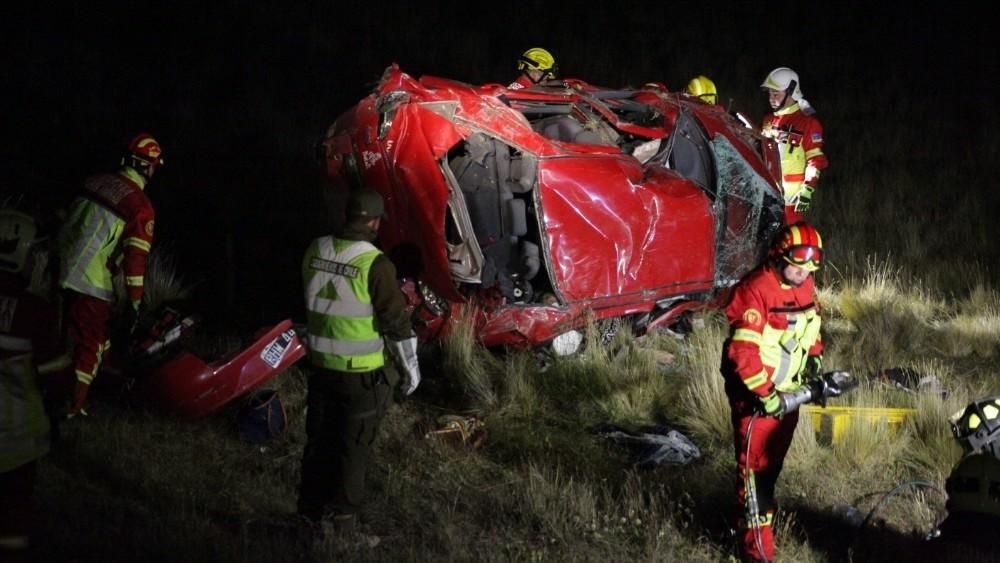 Tragedia de una familia argentina en la ruta a Punta Arenas