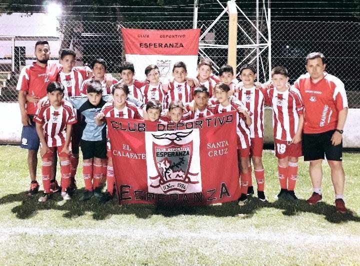 Deportivo Esperanza ganó en el Mundialito de Arteaga