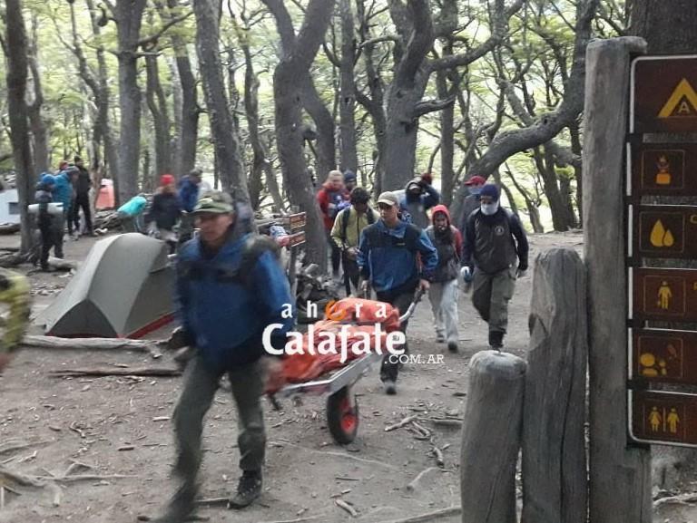 En pocas horas dos rescates de turistas