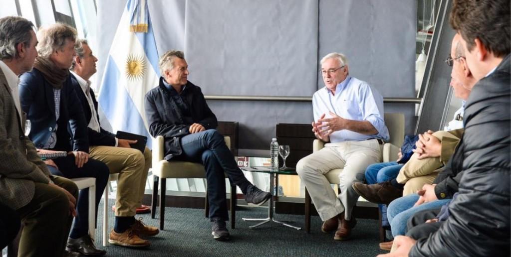 Macri recibió a dirigentes ruralistas de Santa Cruz