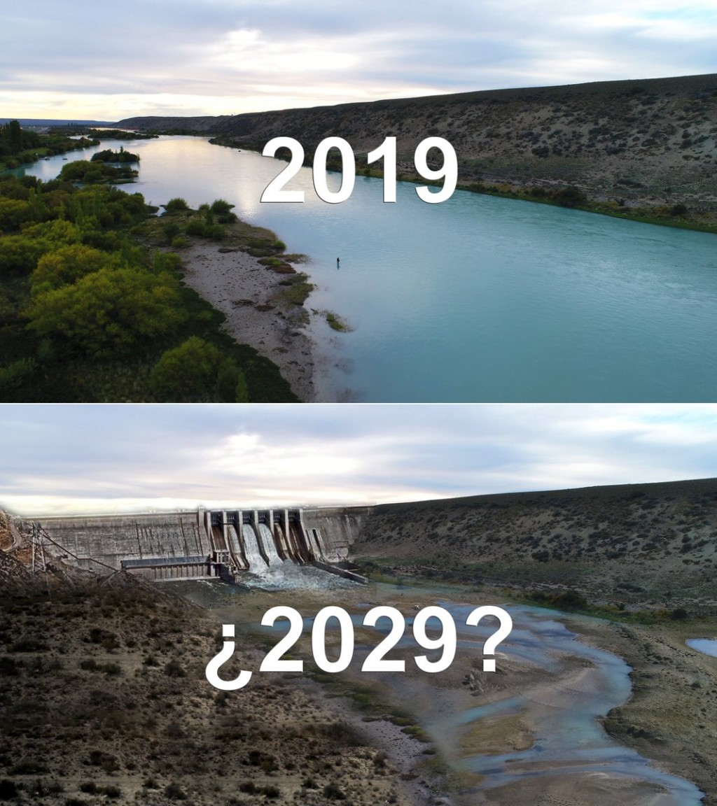Usan desafío viral para repudiar las Represas
