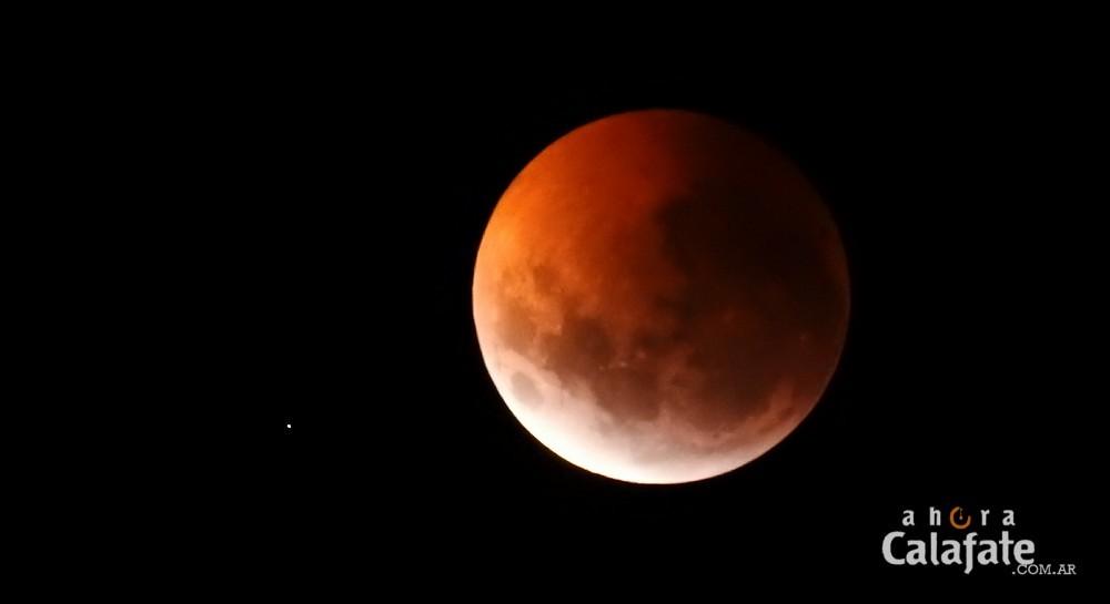 Así se vio el Eclipse Lunar desde El Calafate