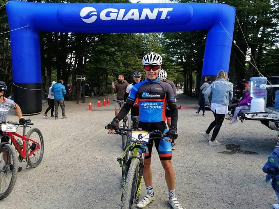 Perez Costa y Garnica en la Terra Australis MountainBike Race