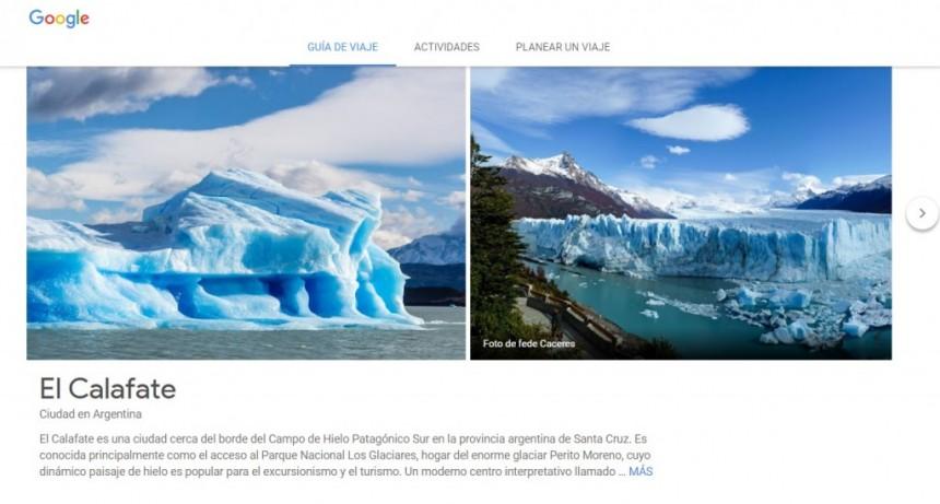 Según Google, El Calafate es el destino más buscado por los argentinos