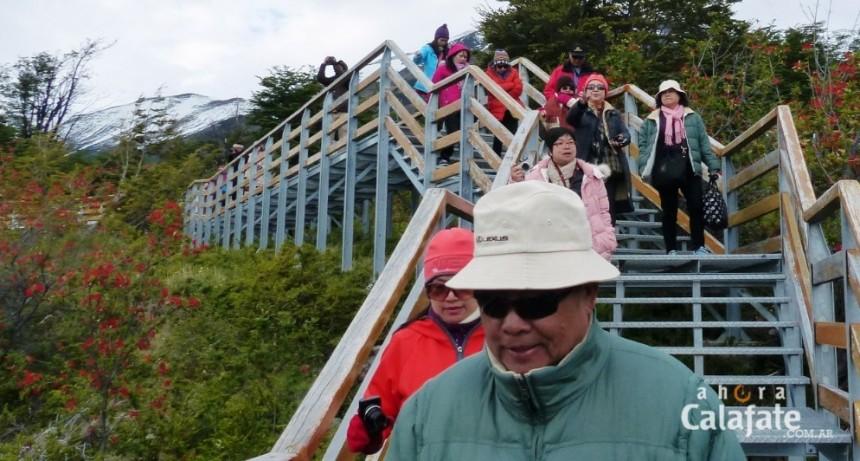 Informe: 56 % de los visitantes al PN Los Glaciares son extranjeros