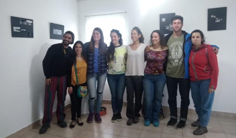 Finalizó el seminario de fotografía estenopeica