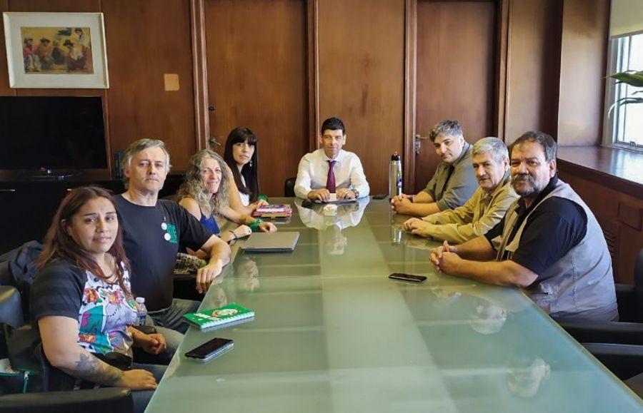 SAMIC. ATE se reunió con autoridades de Salud en Buenos Aires