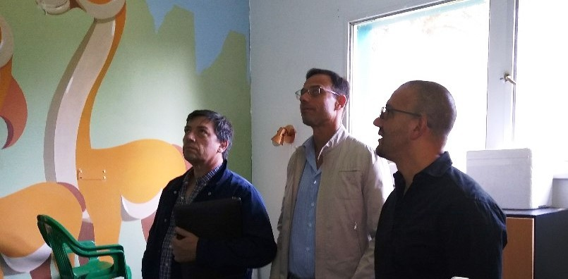 Reunión de autoridades del SAMIC y el Formenti