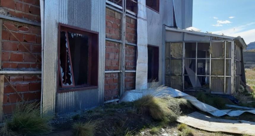 VIDEO. Denuncian reiterados robos y destrozos a propiedades de Lázaro Báez en El Calafate