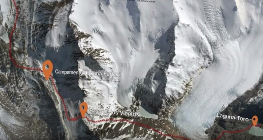 ANTICIPO. Preparan un complejo rescate de una turista accidentada en la montaña