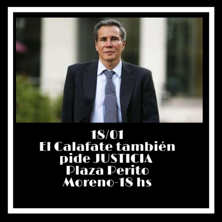 El Calafate. Convocatoria a 5 años de la muerte de Nisman