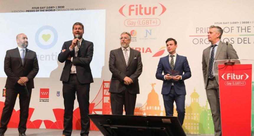 Argentina fue premiada en Fitur como destino LGBT