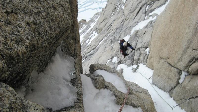 Otra emergencia en las montañas de El Chaltén