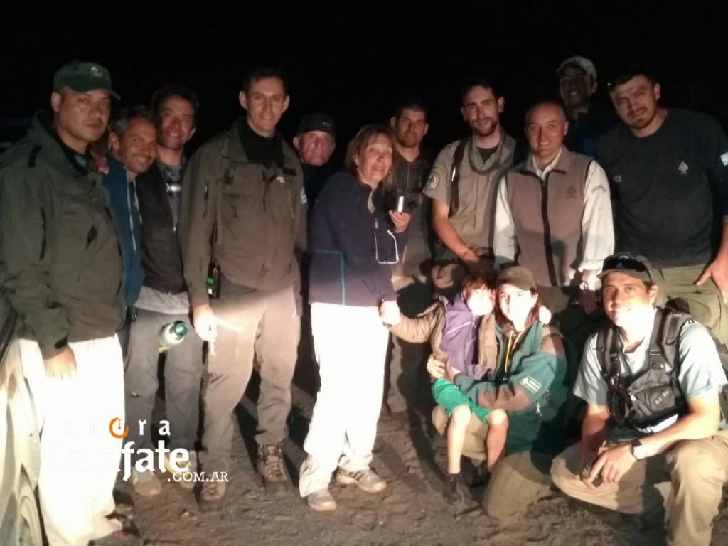 Operativo por mujer extraviada en zona del Lago Roca