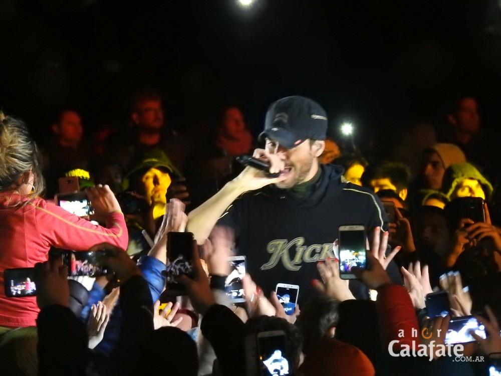 El show internacional de Enrique Iglesias finalizó el Festival del Lago
