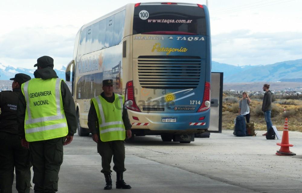 Gendarmería detecta cargamento de droga en el acceso