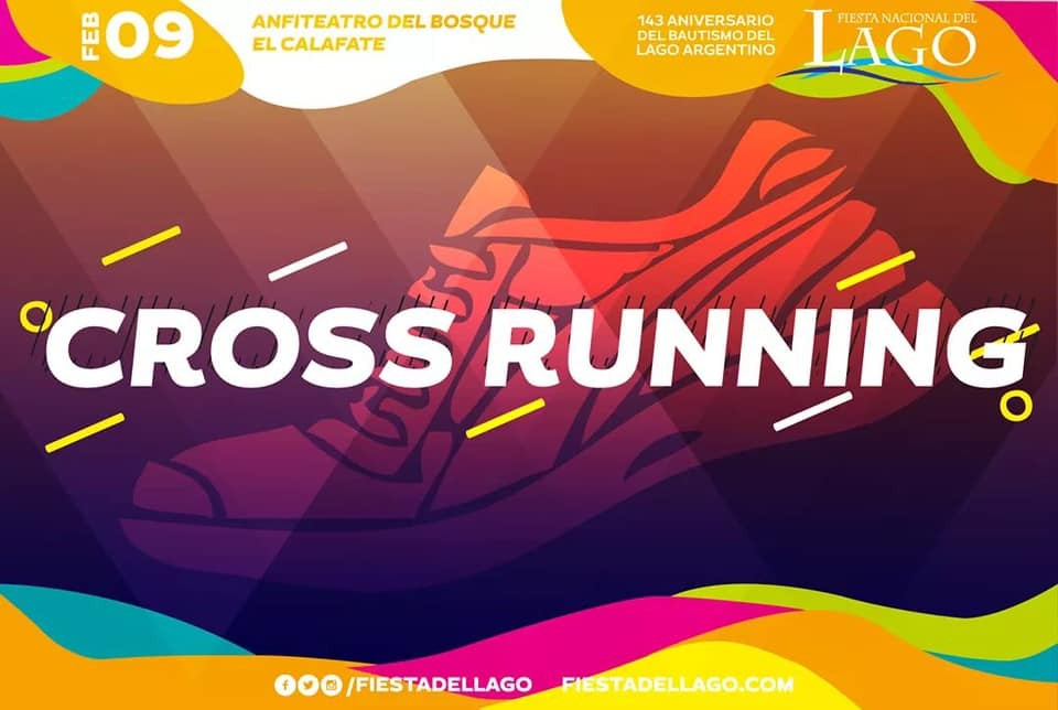 El domingo se corre el Cross Running del Lago