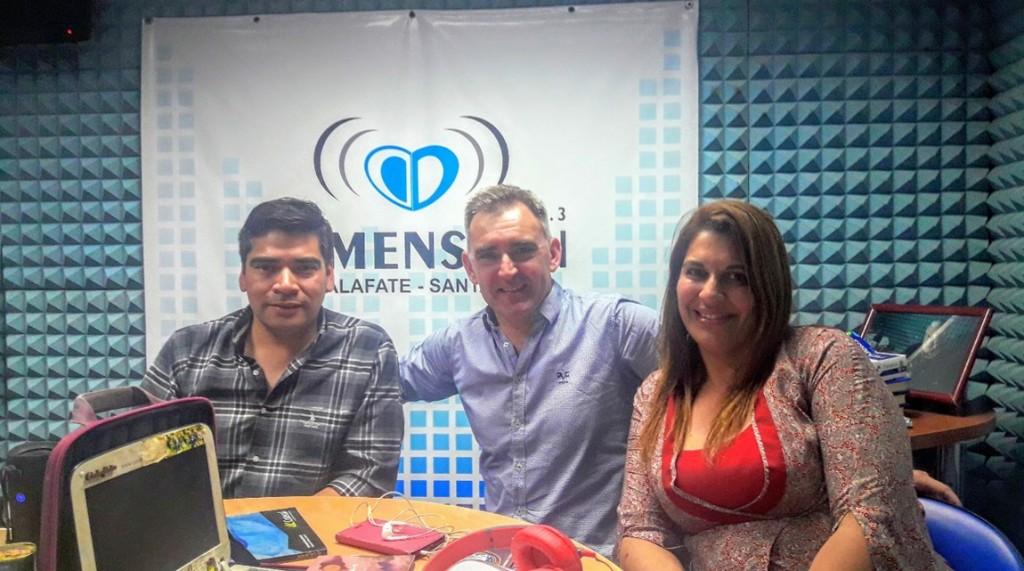 El equipo de Cultura en FM DIMENSION