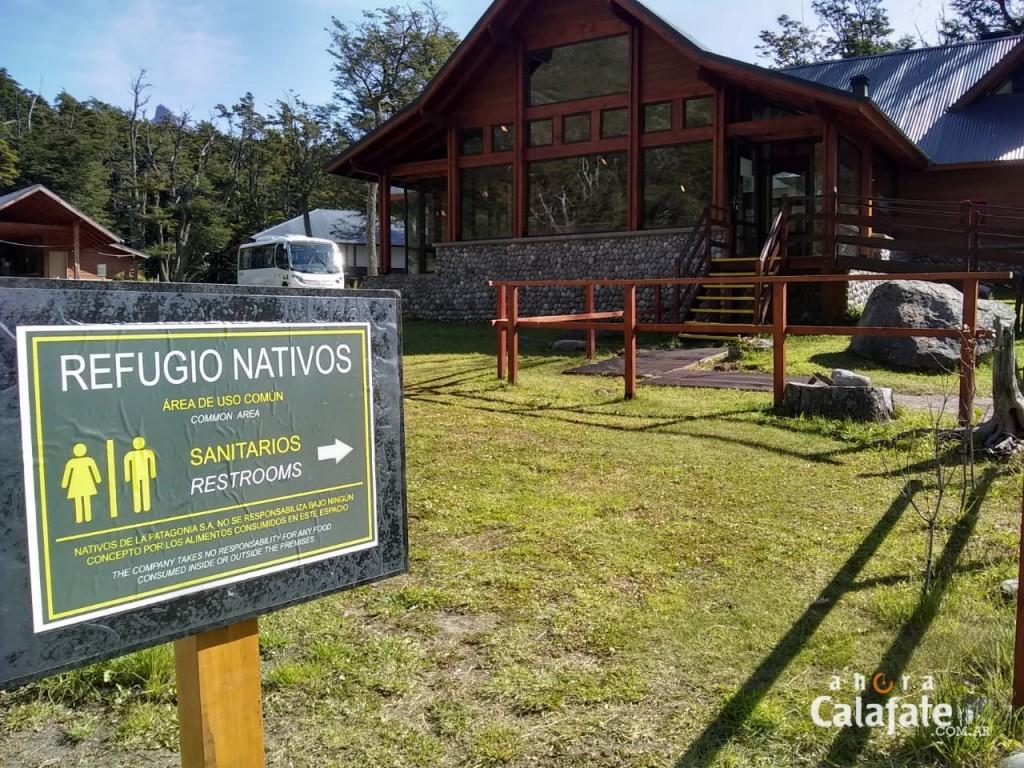 VIDEO. Un nuevo espacio de servicios frente al Glaciar Perito Moreno