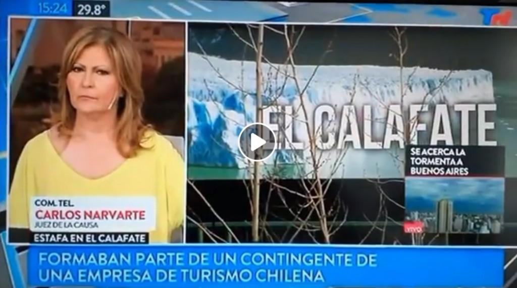 La estafa de la agencia chilena en El Calafate llegó a medios nacionales