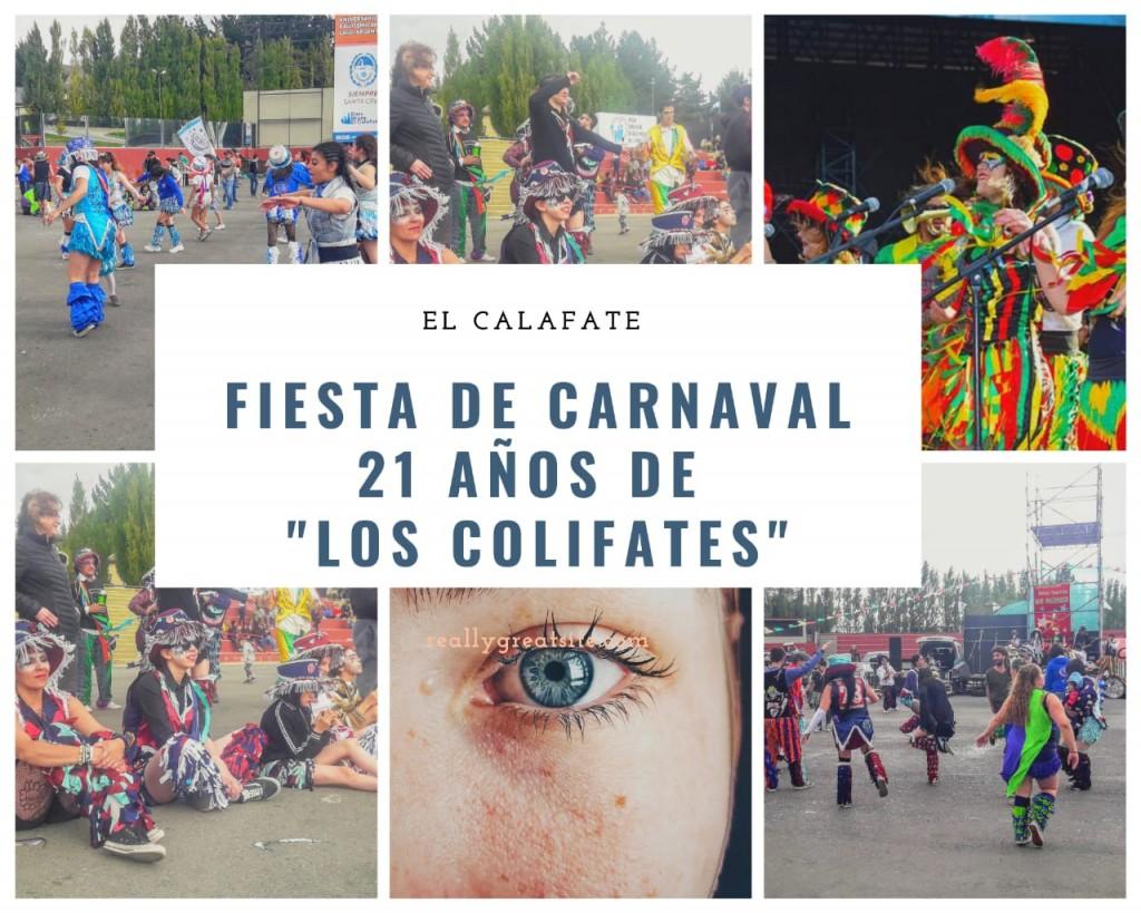 """Carnaval y celebración de los 21 años de la Murga """"Los Colifates"""""""