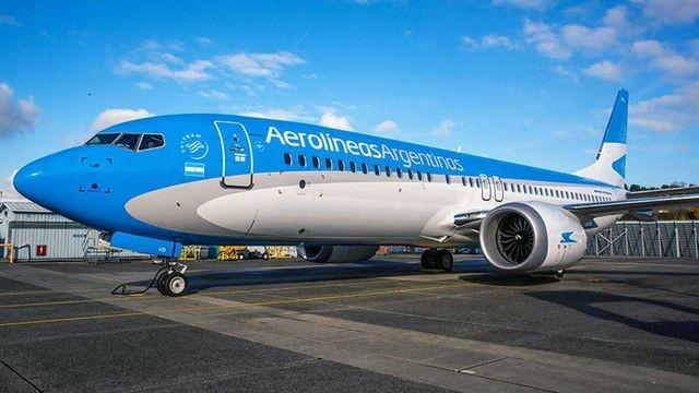Aerolíneas suspende vuelos con los Boeing 737 MAX8