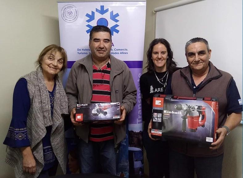 """Cámara entregó donaciones de la """"Amasada Solidaria"""""""
