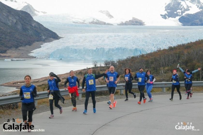 El 27 de abril se corre la 8va Media Maratón del Glaciar