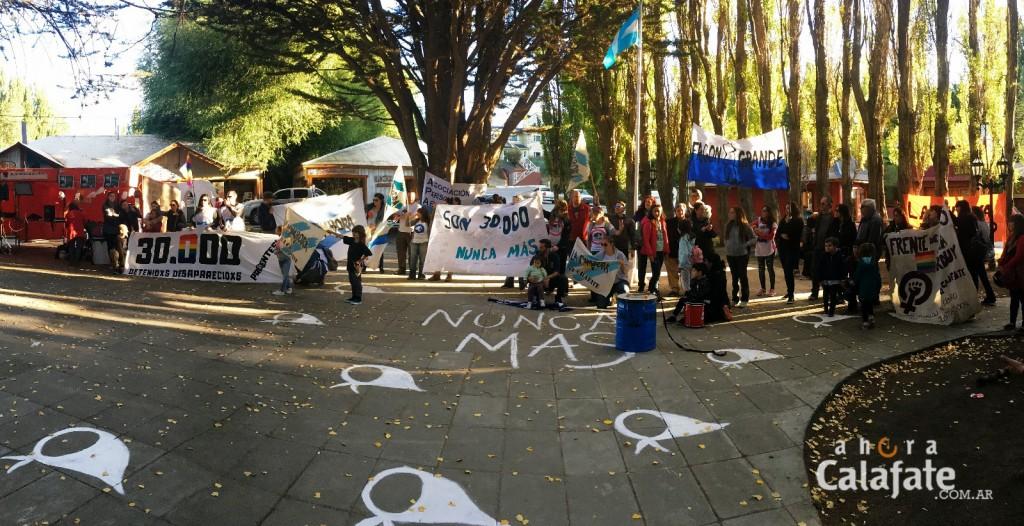 Actividades y Marcha por el Día de la Memoria en El Calafate
