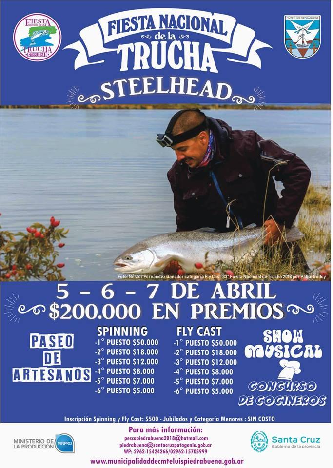 La Fiesta de la Steelhead es en abril.