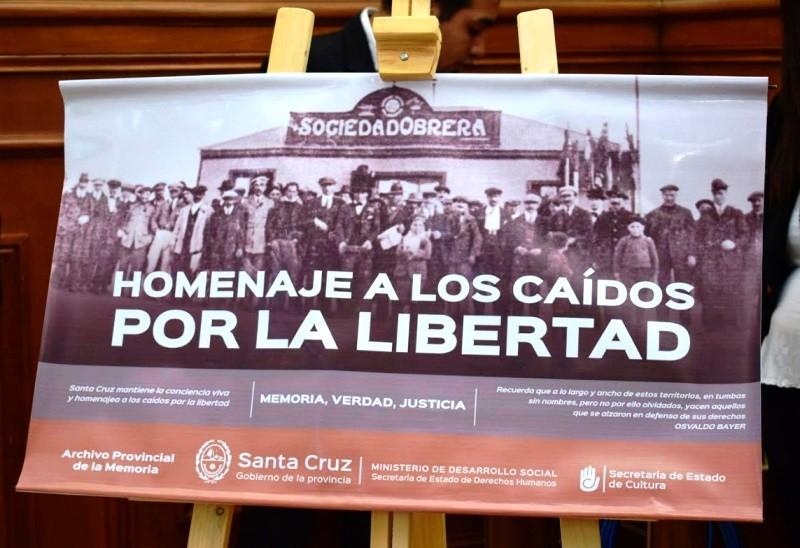 Apoyo del Gobierno al feriado en homenaje a Peones Fusilados