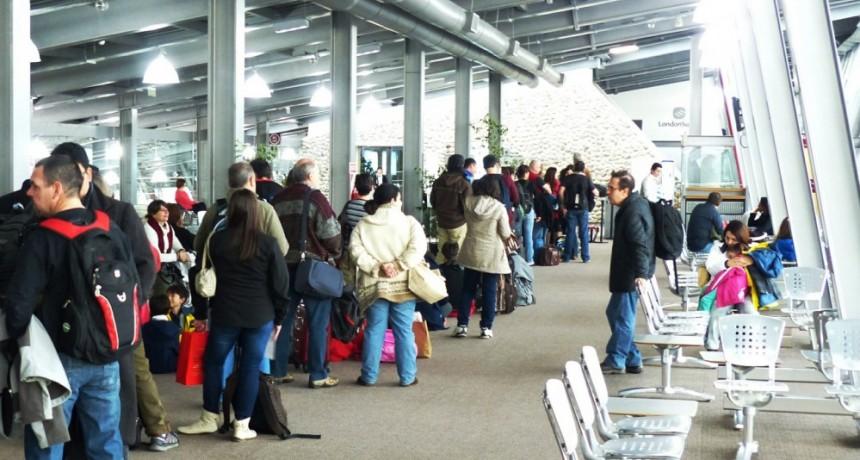 Aeropuerto. Tercer mes consecutivo de Récord de pasajeros