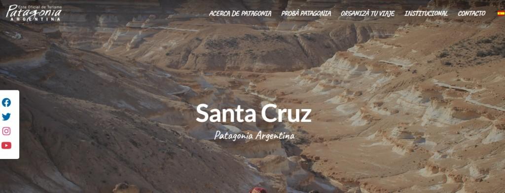 La Patagonia argentina renueva su web y se prepara para la recuperación