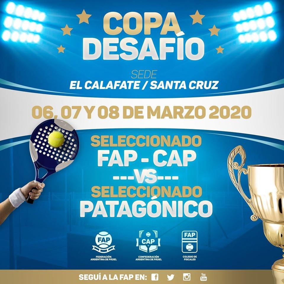 La Selección Nacional de Padel de FAP llega este viernes a El Calafate
