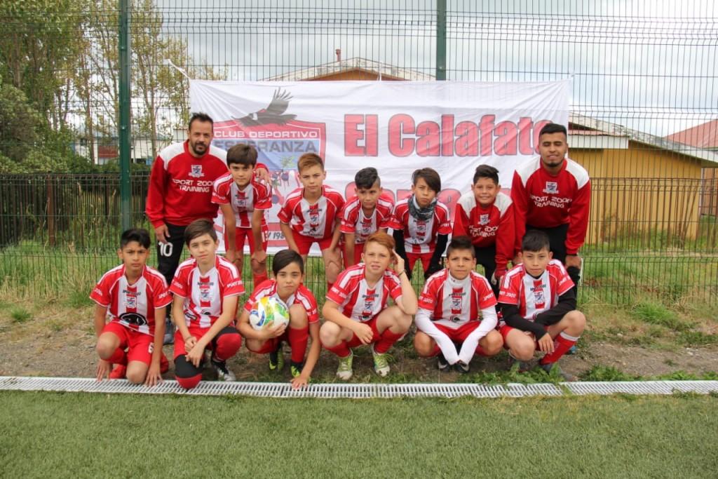 Esperanza en Torneo Infantil de Fútbol en Puerto Natales