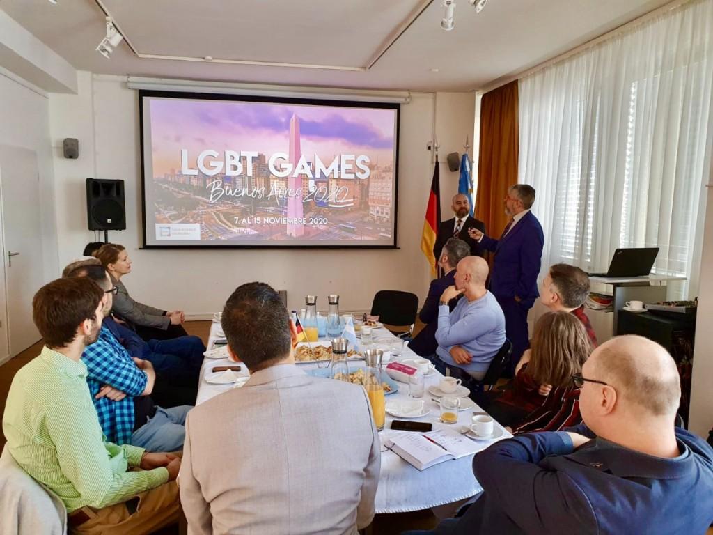 Sin ITB, Argentina presentó igualmente su oferta LGBT en Alemania