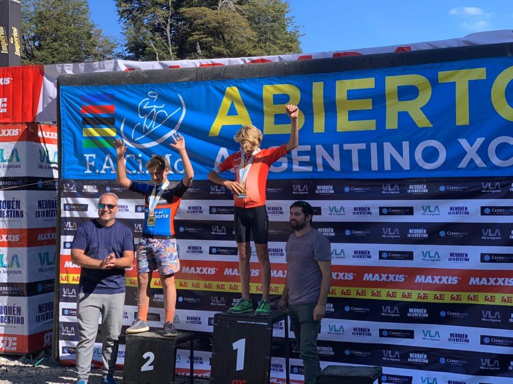 Calafateño segundo en el Abierto Argentino de MTB