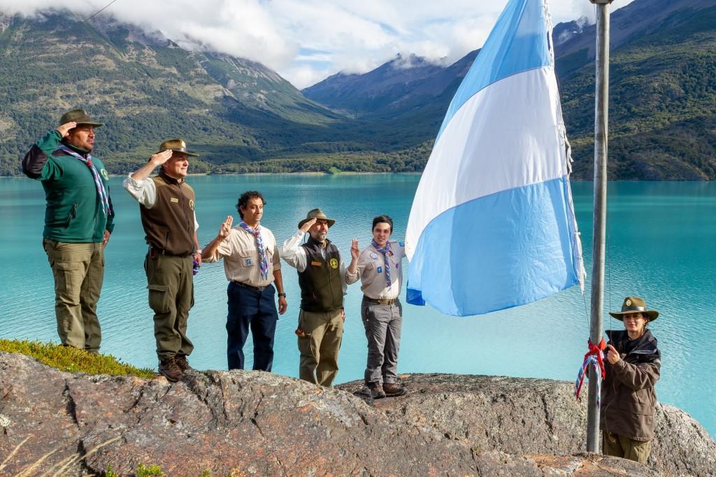 Scouts. Una bandera para Punta Bandera