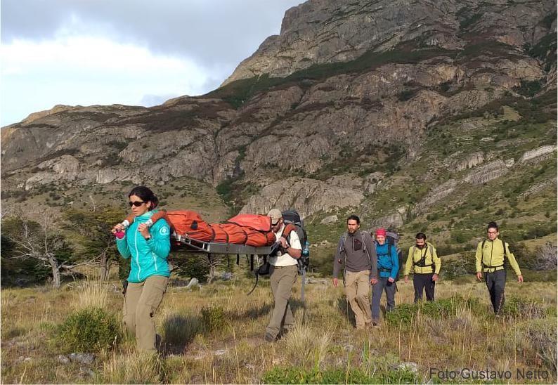 El Chaltén. Se realizaron 26 rescates en senderos y  montaña