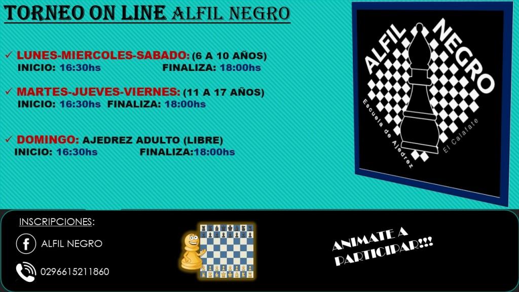 Torneos de Ajedrez on line en El Calafate