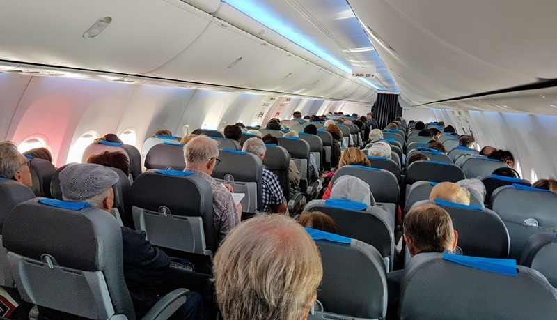 Suspenden todos los vuelos de cabotaje. En El Calafate aún hay 134 turistas
