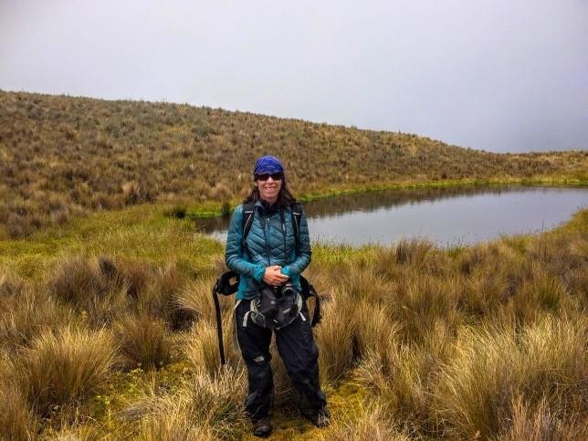 Investigadora argentina del CONICET, varada en Perú por el COVID-19.