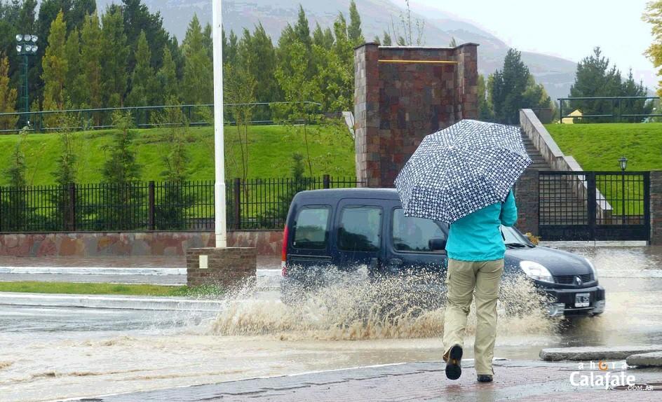 En solo 6 horas llovió casi lo mismo que en todo el mes