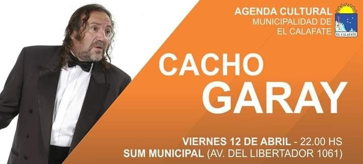 Municipalidad abre su cartelera de shows con Cacho Garay.