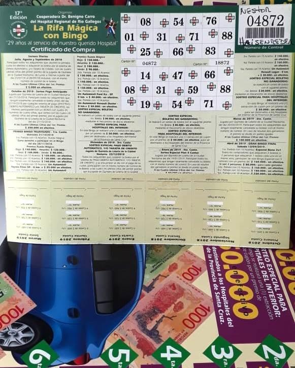 Un calafateño ganó $ 3 millones en el Gran Bingo