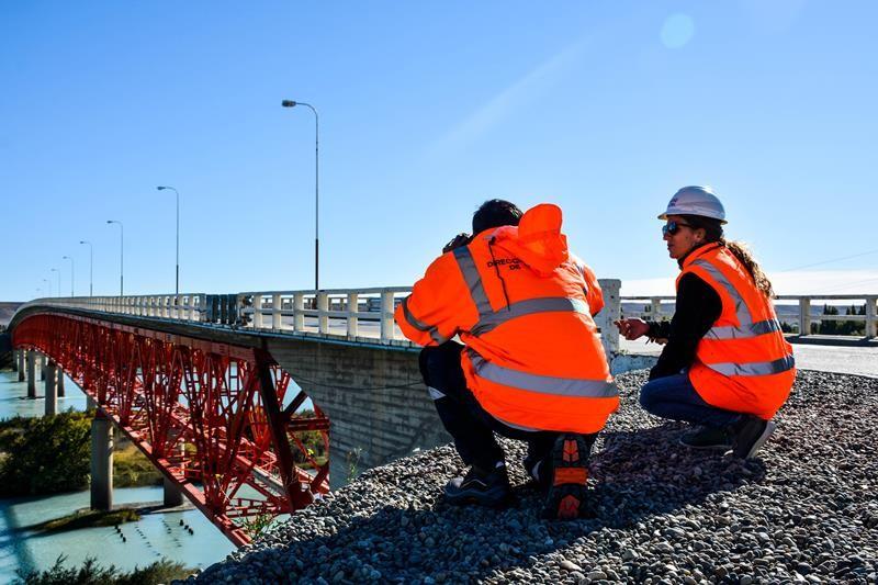 Nuevo corte total en el puente sobre Río Santa Cruz