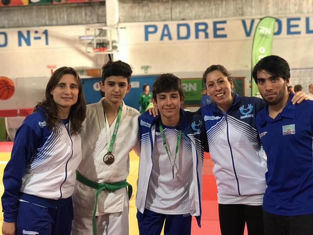 El judo calafateño aportó dos medallas en los Epade para Santa Cruz