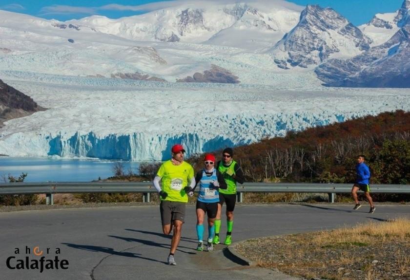 Se corre la 8va Media Maratón del Glaciar