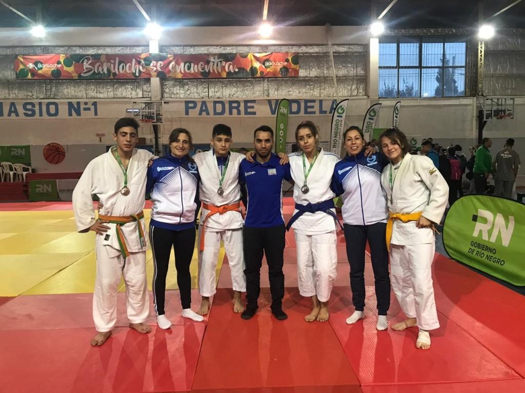 El judo de El Calafate suma tres medallas más para Santa Cruz en los EPADE