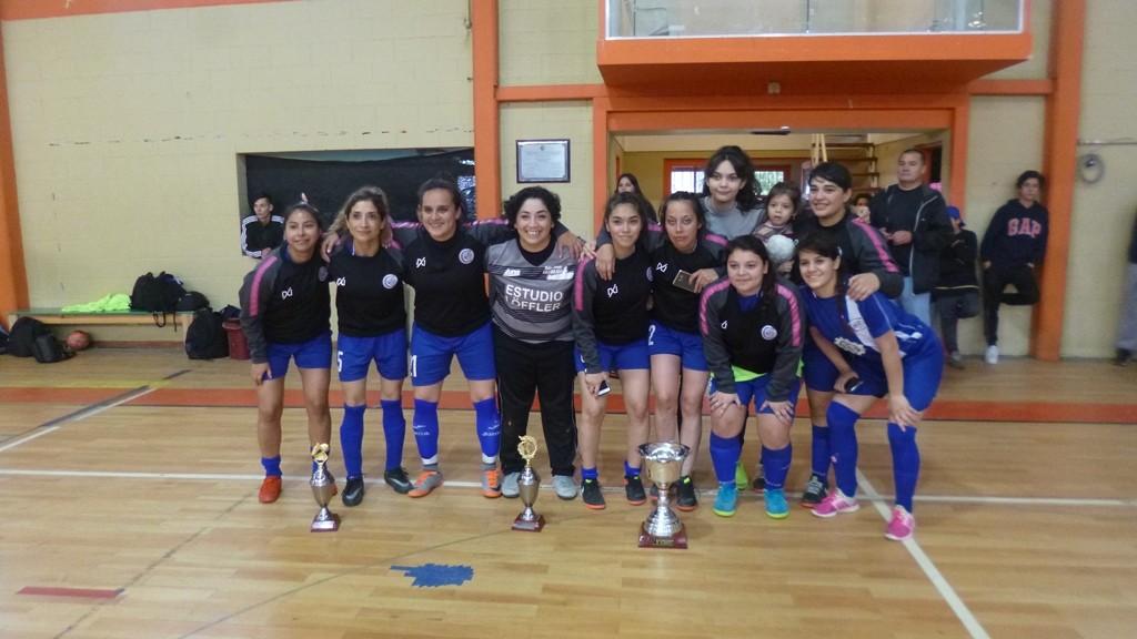 Metalúrgico y Club Palma clasificados al Torneo Nacional de Futsal Femenino
